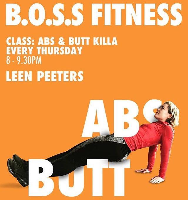 abs 'n butt killah Leen